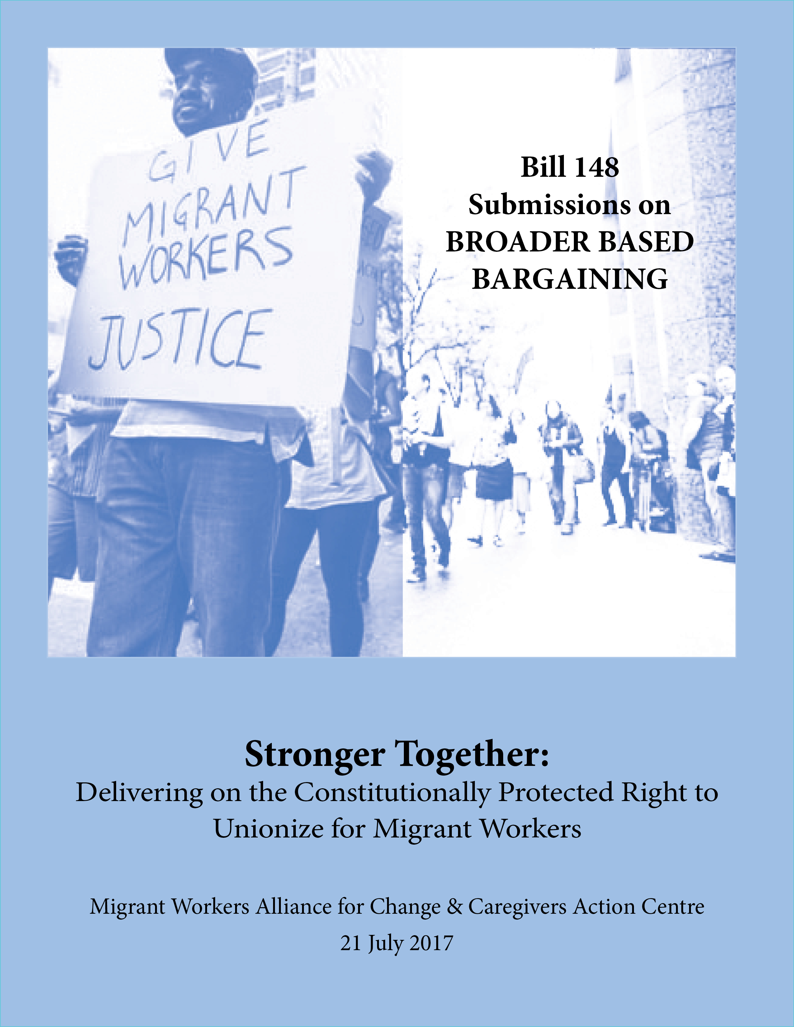 The Right to Unionize for Migrant Workers